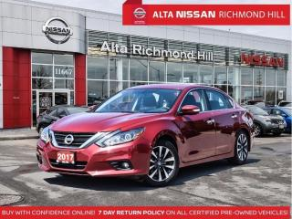 Used 2017 Nissan Altima SL   Heated Steering   Bose   Leds   Blind Spot for sale in Richmond Hill, ON