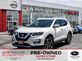 Used 2017 Nissan Rogue SL Plat.   Leather   360   Pano   Heated Steering for sale in Richmond Hill, ON