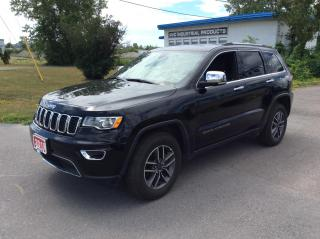 Used 2019 Jeep Grand Cherokee Limited 4x4 - LEATHER - SUNROOF - NAVIGATION! for sale in Ottawa, ON