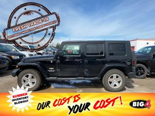 Used 2009 Jeep Wrangler Unlimited Sahara for sale in Calgary, AB