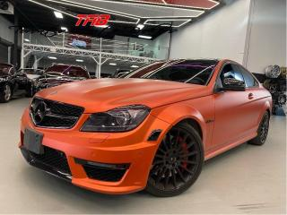 Used 2013 Mercedes-Benz C-Class C63 COUPE | AMG | CARBON FIBRE | COMING SOON I NAV for sale in Vaughan, ON