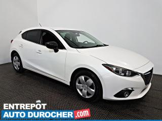Used 2014 Mazda MAZDA3 GS-SKY AIR CLIMATISÉ - Caméra de Recul for sale in Laval, QC