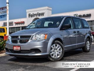 Used 2018 Dodge Grand Caravan CVP   3RD ROW STOW N GO   LEASE RETURN for sale in Burlington, ON
