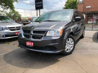 Used 2017 Dodge Grand Caravan 3RD ROW STOW N GO   LEASE RETURN for sale in Burlington, ON
