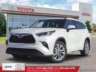 New 2020 Toyota Highlander Limited AWD LA10 for sale in Whitby, ON