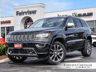 Used 2017 Jeep Grand Cherokee Overland   PANO ROOF   ACTIVE SAFETY GRP for sale in Burlington, ON