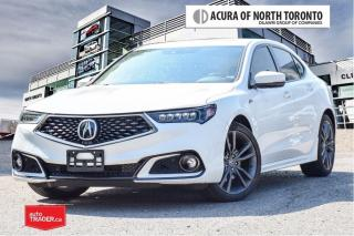 Used 2018 Acura TLX 3.5L SH-AWD w/Tech Pkg A-Spec Red Remote Start| Ap for sale in Thornhill, ON