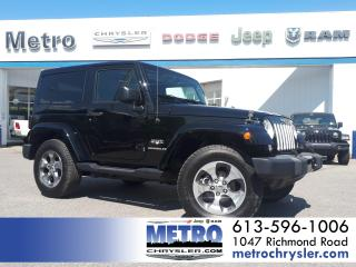 Used 2017 Jeep Wrangler JK Sahara 4X4 LOADED for sale in Ottawa, ON