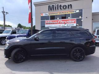 Used 2019 Dodge Durango R/T AWD|TRAILER TOW|DVD|SUNROOF|RED LEATHER for sale in Milton, ON