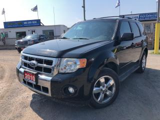 Used 2010 Ford Escape Limited for sale in Whitby, ON