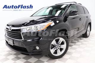 Used 2016 Toyota Highlander Limited 7-Pass *Blind-Spot *GPS/Camera *Toit-Pano for sale in Saint-Hubert, QC