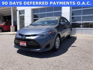 Used 2018 Toyota Corolla LE CVT for sale in North Bay, ON