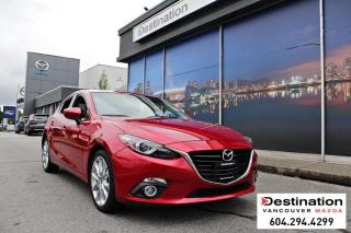 Used 2016 Mazda MAZDA3 Sport GT - Sporty in Soul Red with Manual Transmission! for sale in Vancouver, BC