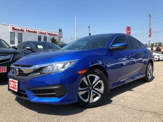 Used 2017 Honda Civic Sedan LX Air - Power group - Bluetooth - Rear camera for sale in Mississauga, ON