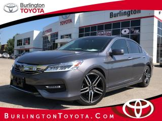 Used 2017 Honda Accord Sedan Touring for sale in Burlington, ON
