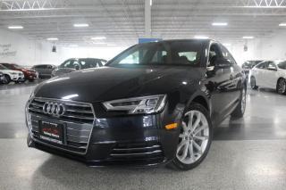 Used 2017 Audi A4 PROGRESSIV I NAVIGATION I SUNROOF I REAR CAM I HEATED SEATS for sale in Mississauga, ON