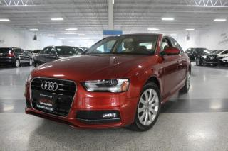 Used 2015 Audi A4 S-LINE I NO ACCIDENTS I SUNROOF I HEATED SEATS I LEATHER for sale in Mississauga, ON