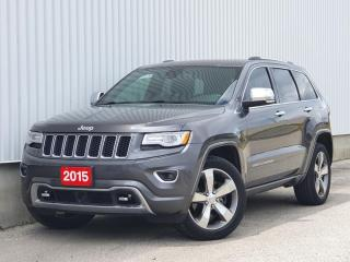 Used 2015 Jeep Grand Cherokee Diesel Overland| Accident Free|Navi|WE FINANCE for sale in Mississauga, ON