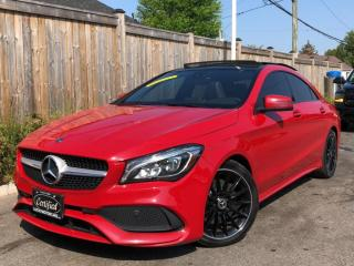 Used 2018 Mercedes-Benz CLA-Class CLA250 4MATIC AMG PREMIUM PLUS SPORT PKG-ROOF-CAM-60KMS for sale in Toronto, ON