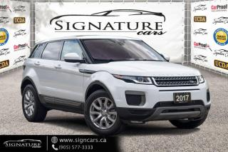 Used 2017 Land Rover Evoque 5dr HB SE. NO ACCIDENT. NAVI. PANO ROOF. BACK-UP CAMERA. for sale in Mississauga, ON
