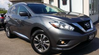 Used 2015 Nissan Murano SL AWD - LEATHER! NAV! 360 CAM! BSM! PANO ROOF! for sale in Kitchener, ON