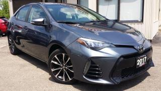 Used 2017 Toyota Corolla SE -BACK-UP CAM! SAFETY SENSE! SUNROOF! for sale in Kitchener, ON