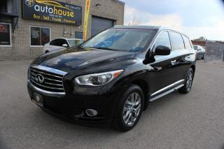 Used 2014 Infiniti QX60 NAVI,AWD,360'CAMERA,SUNROOF,7PASS,REMOTE STARTER for sale in Newmarket, ON