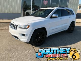 Used 2015 Jeep Grand Cherokee Overland - Heated Seats & Uconnect for sale in Southey, SK