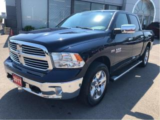 Used 2017 RAM 1500 Big Horn Crew 4x4 V8 w/Navi, Backup Cam, Bluetooth for sale in Hamilton, ON