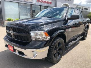 Used 2014 RAM 1500 Outdoorsman Crew 4x4 V8 w/Remote Start, Backup Cam for sale in Hamilton, ON