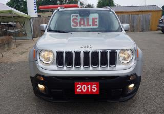 Used 2015 Jeep Renegade Limited for sale in Brantford, ON