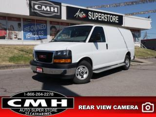Used 2018 GMC Savana Cargo Van WT  CAM CHR-BUMPERS CAGE STEPS for sale in St. Catharines, ON