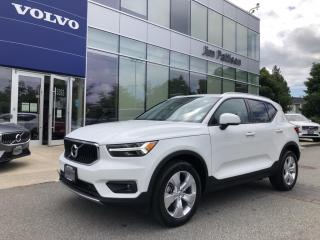 New 2020 Volvo XC40 T5 AWD Momentum for sale in Surrey, BC