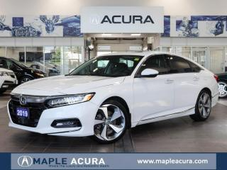 Used 2019 Honda Accord Touring 2.0T, One owner, head up display. for sale in Maple, ON