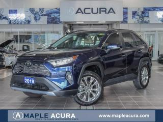 Used 2019 Toyota RAV4 Limited,  Navi, One owner, No accidents. for sale in Maple, ON