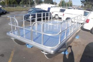 Used 2020 Pontoon Aluminum Deck Boat 13.7 Foot for sale in Burnaby, BC