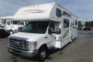 Used 2010 Ford WINEBEGO Access Class C Motorhome 31 Foot E450 One Slide for sale in Burnaby, BC