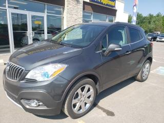 Used 2016 Buick Encore Premium AWD NAV Leather Roof Backup Cam for sale in Trenton, ON