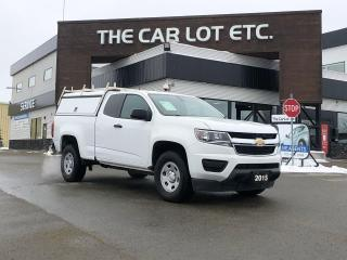Used 2015 Chevrolet Colorado WT 2.5L 4CYL, BACKUP CAMERA, 2 PASSENGER for sale in Sudbury, ON