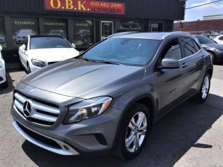 Used 2016 Mercedes-Benz GLA 4MATIC-GLA 250-BLUETOOTH-SIEGES CHAUFFANTS-MAGS for sale in Laval, QC