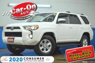Used 2020 Toyota 4Runner 7 SEATER 4X4 REAR CAM HTD SEATS NAV READY ADAPTIVE for sale in Ottawa, ON