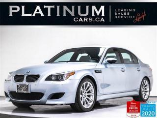 Used 2006 BMW M5 V10, 500HP, SMG, NAV, SUNROOF, MERINO, VENTILATED for sale in Toronto, ON