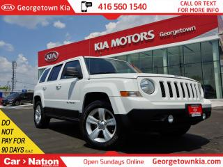 Used 2014 Jeep Patriot North 4WD | DEALER SERVICED | HTD SEATS | 126K KMS for sale in Georgetown, ON