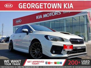Used 2018 Subaru WRX Sport | 6 SPD M/T | 1 OWNER| UPGRADES GALORE| ROOF for sale in Georgetown, ON