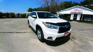 Used 2015 Toyota Highlander LIMITED  for sale in Barrie, ON