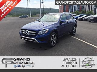 Used 2018 Mercedes-Benz GL-Class GLC 300 VUS 4Matic **GPS**Toit ouvrant** for sale in Rivière-Du-Loup, QC
