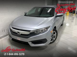 Used 2017 Honda Civic LX **NOUVEL ARRIVAGE** for sale in Chicoutimi, QC