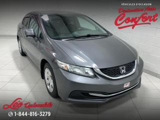 Used 2013 Honda Civic LX **NOUVEL ARRIVAGE** for sale in Chicoutimi, QC