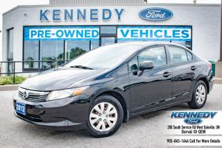 Used 2012 Honda Civic Sdn LX for sale in Oakville, ON