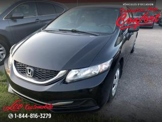 Used 2013 Honda Civic DX **NOUVEL ARRIVAGE** for sale in Chicoutimi, QC